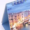 オリジナル卓上カレンダー制作事例:「ヨーロッパ:水のある風景」