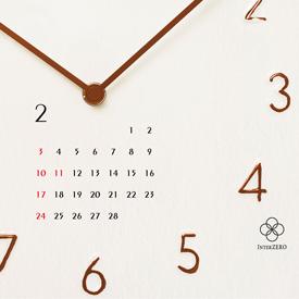 オリジナル卓上カレンダー制作事例:時計メーカー様